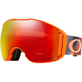 Oakley Airbrake XL Snow Goggle Mystic Flow Orange/Prizm Torch Iridium & Prizm Black Iridium